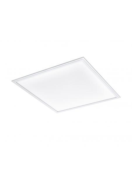EGLO 96153 - SALOBRENA 1 Lámpara de Salón en Aluminio blanco y Acrílico