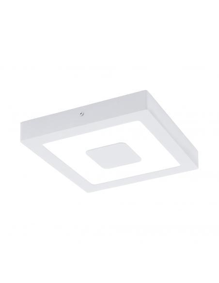 EGLO 96488 - IPHIAS Aplique de exterior LED en Fundición de aluminio blanco y Acrílico