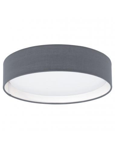 EGLO 31592 - PASTERI Plafón LED en Acrílico, acero blanco y Textil