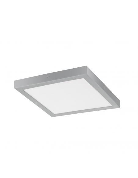 EGLO 97265 - FUEVA 1 Lámpara de Superficie LED en Aluminio plata y Acrílico