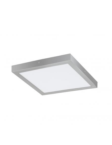 EGLO 97269 - FUEVA 1 Lámpara de Superficie LED en Aluminio plata y Acrílico