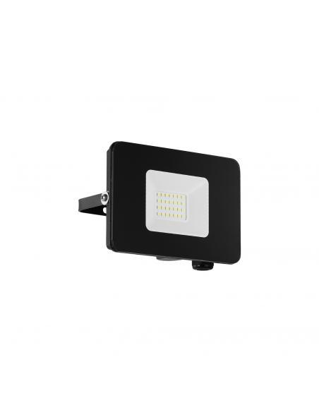 EGLO 97456 - FAEDO 3 Aplique de exterior LED en Aluminio negro y Vidrio
