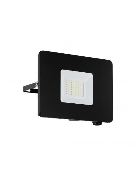 EGLO 97457 - FAEDO 3 Aplique de exterior LED en Aluminio negro y Vidrio