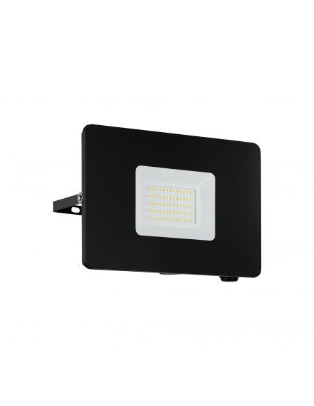 EGLO 97458 - FAEDO 3 Aplique de exterior LED en Aluminio negro y Vidrio