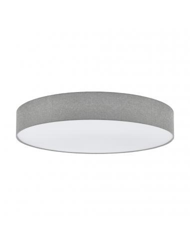 EGLO 97622 - PASTERI Plafón de Tela en Acero blanco y Textil, lino
