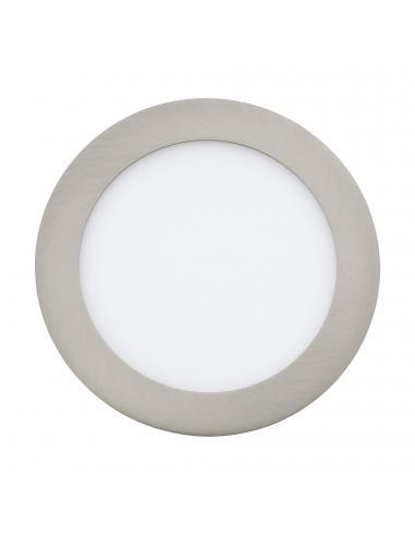 EGLO 31671 - FUEVA 1 Lámpara Empotrable LED en Fundición de metal níquel-mate y Acrílico