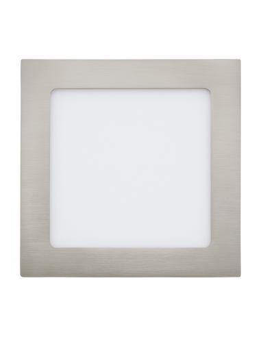 EGLO 31674 - FUEVA 1 Lámpara Empotrable LED en Fundición de metal níquel-mate y Acrílico