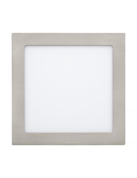 EGLO 31677 - FUEVA 1 Lámpara Empotrable LED en Fundición de metal níquel-mate y Acrílico