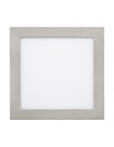 EGLO 31678 - FUEVA 1 Lámpara Empotrable LED en Fundición de metal níquel-mate y Acrílico