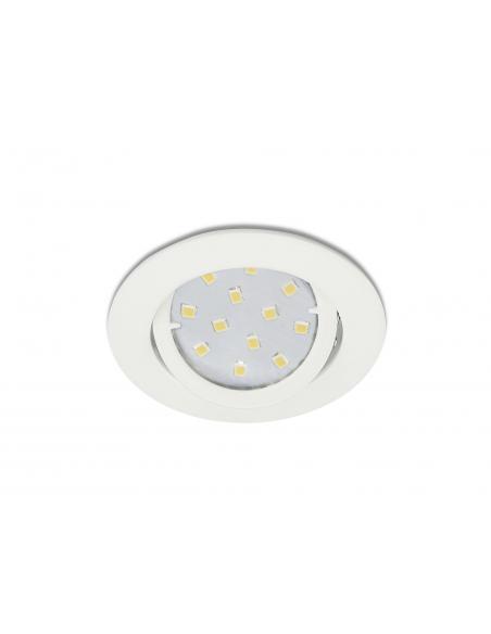 EGLO 31682 - TEDO Lámpara Empotrable LED en Fundición de aluminio blanco