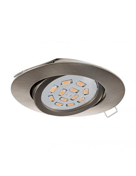 EGLO 31688 - TEDO Lámpara Empotrable LED en Fundición de aluminio níquel-mate
