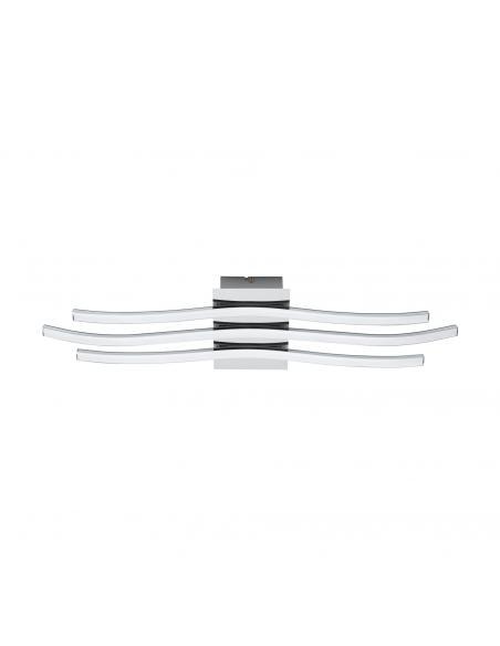 EGLO 31995 - RONCADE Plafón LED en Aluminio, acero cromo y Acrílico