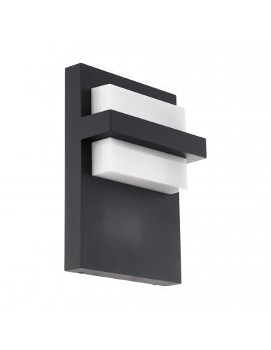EGLO 98088 - CULPINA Aplique de exterior LED en Aluminio antracita y Acrílico