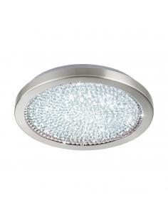EGLO 32047 - AREZZO 2 Plafón LED en Acero níquel-mate y Vidrio, cristal