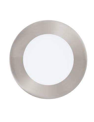 EGLO 32753 - FUEVA-C Lámpara Empotrable LED en Fundición de metal níquel-mate y Acrílico