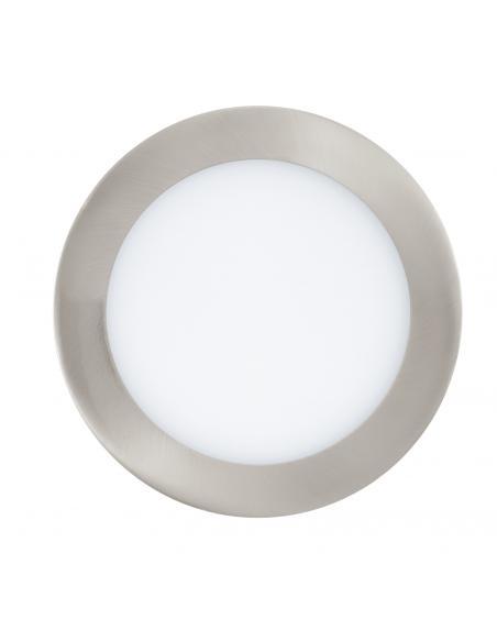 EGLO 32754 - FUEVA-C Lámpara Empotrable LED en Fundición de metal níquel-mate y Acrílico