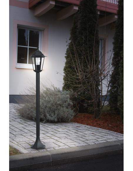 EGLO 22144 - LATERNA 4 Lámpara de pie en Fundición de aluminio y Vidrio