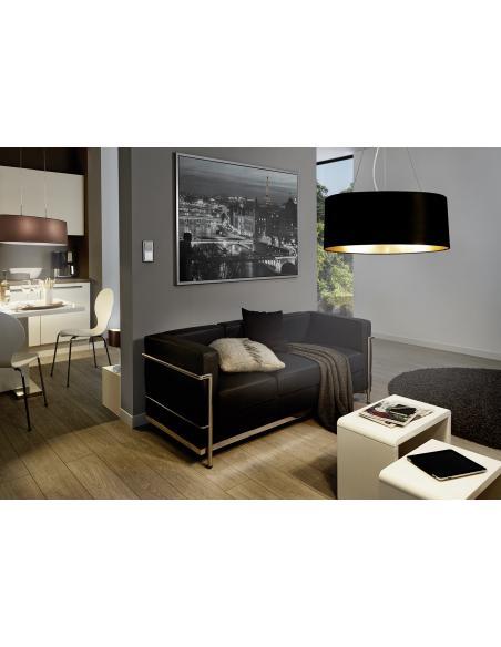 EGLO 31627 - MASERLO Lámpara de mesa en Acero y Textil