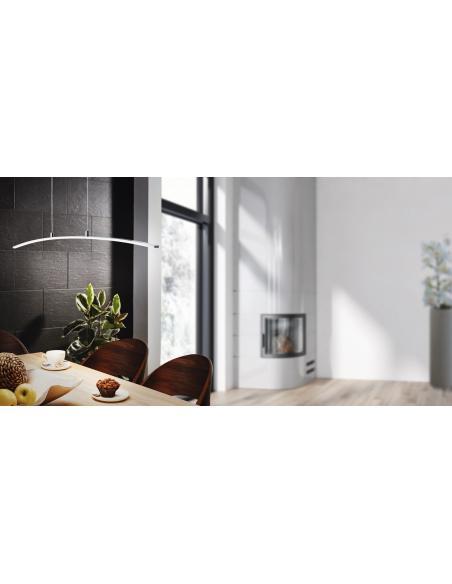 EGLO 32048 - LASANA Lámpara colgante en Aluminio, acero y Acrílico