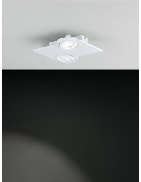 EGLO 39134 - BREA Spot en Acero, aluminio y Vidrio satinado