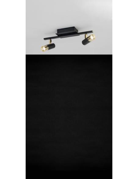 EGLO 39145 - TOMARES Spot en Aluminio, acero