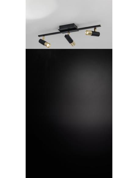EGLO 39146 - TOMARES Spot en Aluminio, acero