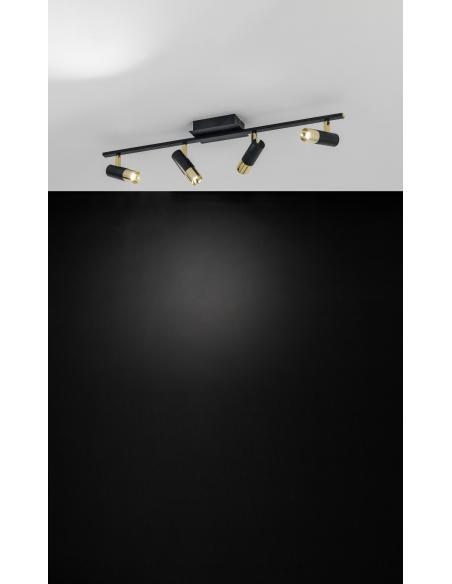 EGLO 39147 - TOMARES Spot en Aluminio, acero