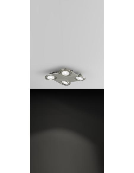EGLO 39251 - BREA Spot en Acero, aluminio y Vidrio satinado