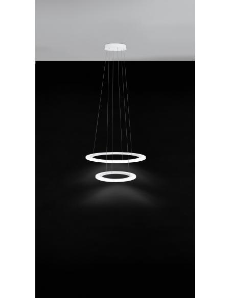 EGLO 39273 - PENAFORTE Lámpara colgante en Aluminio y Acrílico