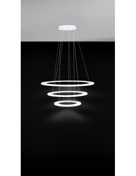 EGLO 39274 - PENAFORTE Lámpara colgante en Aluminio y Acrílico