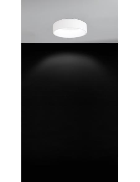 EGLO 39286 - MARGHERA 1 Lámpara de techo en Acero, acrílico