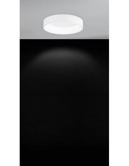 EGLO 39287 - MARGHERA 1 Lámpara de techo en Acero, acrílico