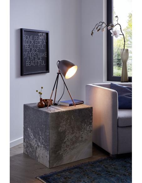 EGLO 49385 - CHESTER Lámpara de mesa en Acero