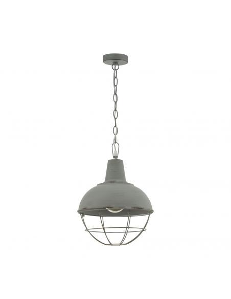 EGLO 33029 - CANNINGTON 1 Lámpara de Salón en Acero gris-pátina