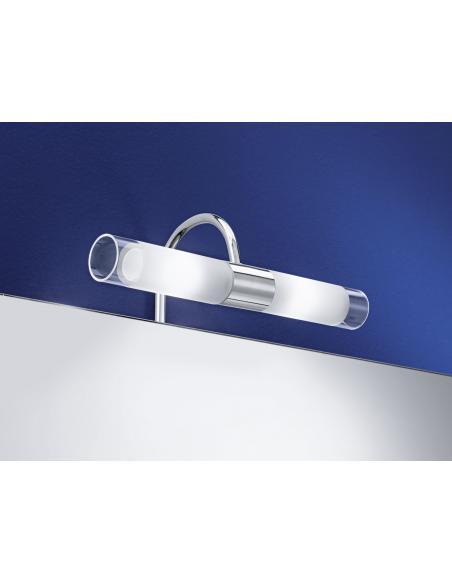 EGLO 85816 - GRANADA Lámpara de espejo en Acero y Vidrio satinado