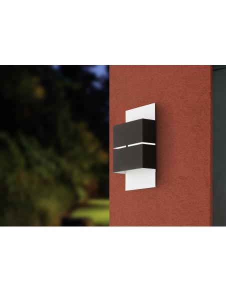 EGLO 93254 - KIBEA Lámpara de pared en Acero galvanizado