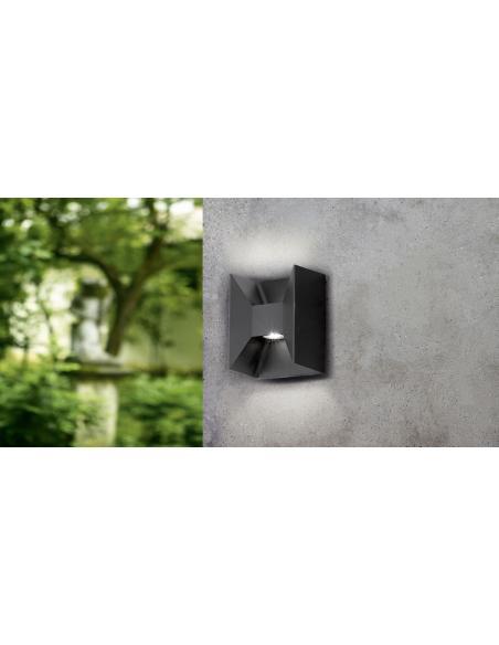 EGLO 93319 - MORINO Lámpara de pared en Fundición de aluminio