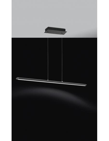 EGLO 93896 - PELLARO Lámpara colgante en Aluminio, acero y Acrílico