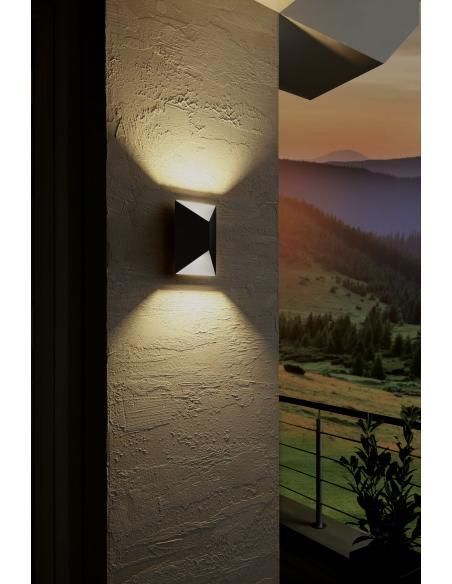 EGLO 93994 - PREDAZZO Lámpara de pared en Acero galvanizado