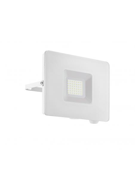 EGLO 33154 - FAEDO 3 Aplique de exterior LED en Aluminio blanco y Vidrio