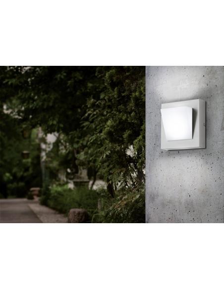 EGLO 94114 - CALGARY 1 Lámpara de pared en Acero inoxidable y Acrílico