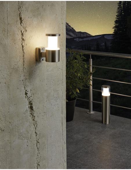 EGLO 94277 - BASALGO 1 Lámpara de pared en Acero inoxidable y Acrílico