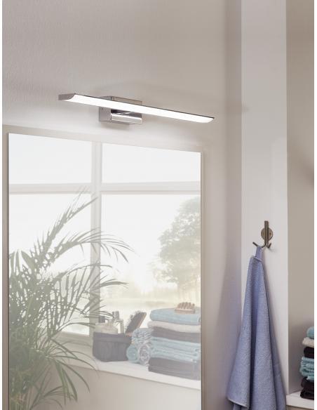 EGLO 94613 - TABIANO Lámpara de espejo en Acero y Acrílico