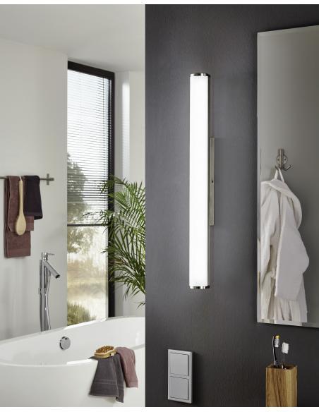 EGLO 94717 - CALNOVA Lámpara de pared en Acero y Vidrio satinado