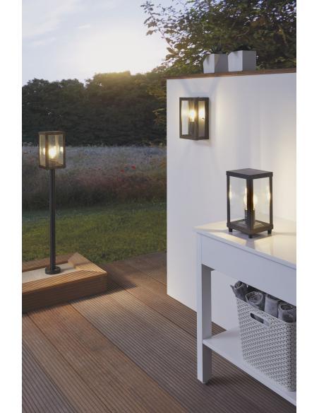 EGLO 94833 - ALAMONTE 1 Lámpara de pie en Acero galvanizado y Vidrio