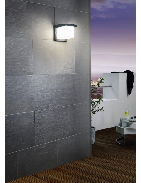 EGLO 95097 - DESELLA 1 Lámpara de pared en Fundición de aluminio y Acrílico