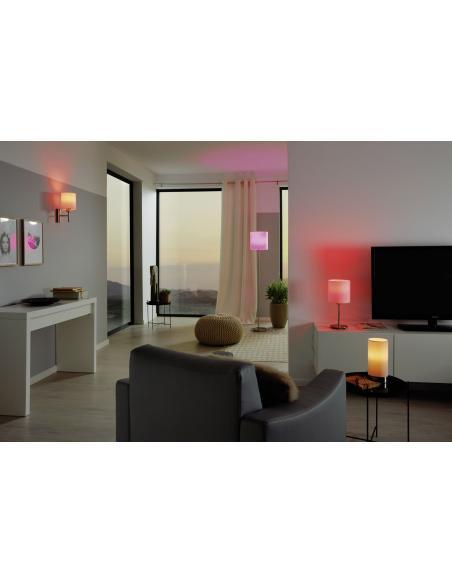 EGLO 95118 - PASTERI Lámpara de mesa en Acero y Textil