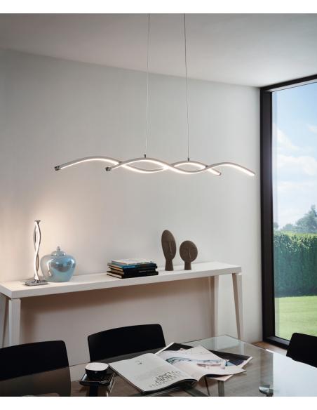 EGLO 96105 - LASANA 2 Lámpara de mesa en Acero, aluminio y Acrílico