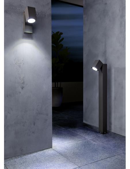 EGLO 96288 - SAKEDA Lámpara de pie en Fundición de aluminio