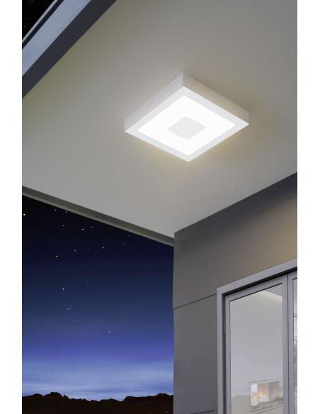 EGLO 96488 - IPHIAS Lámpara de pared / techo en Fundición de aluminio y Acrílico